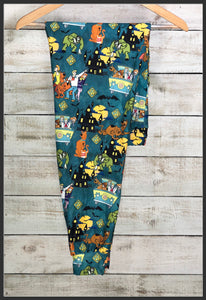 Scooby Doo Joggers Custom Print Novelty Jogger Pants Scooby Joggers - Arrow Trend Leggings