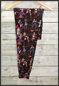 Sexy Horror Villain Vixens Joggers Custom Print Novelty Jogger Pants - Arrow Trend Leggings