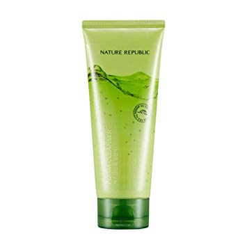 Nature Republic Jeju Sparkling Foam Cleanser