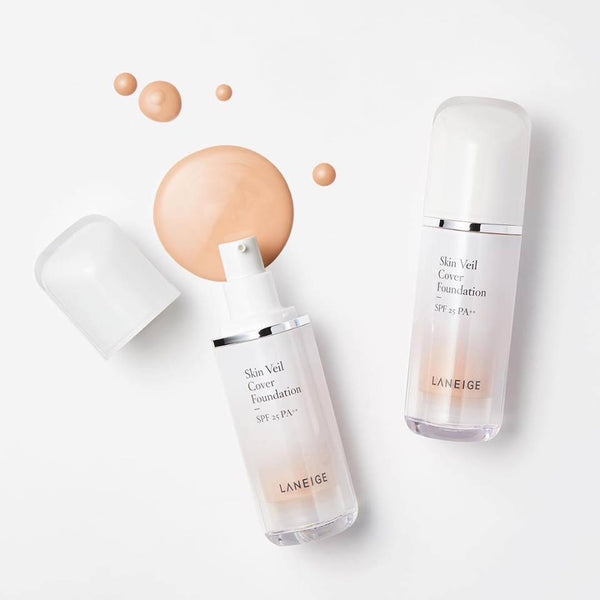 Laneige Skin Veil Cover Foundation - Sister Seoul, K-Beauty