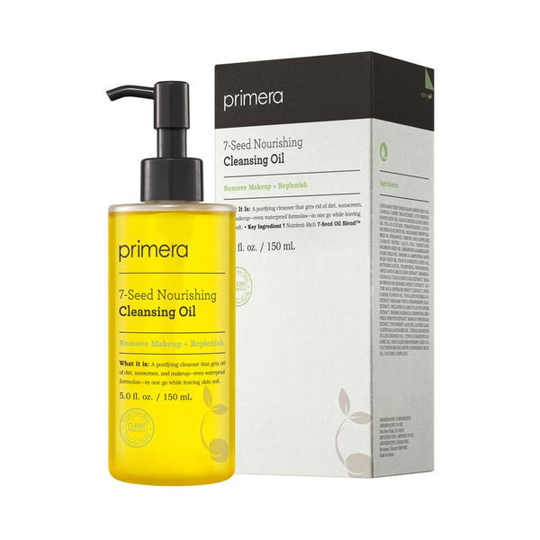 Primera 7 Seed Nourishing Cleansing Oil 250ml - Sister Seoul, K-Beauty
