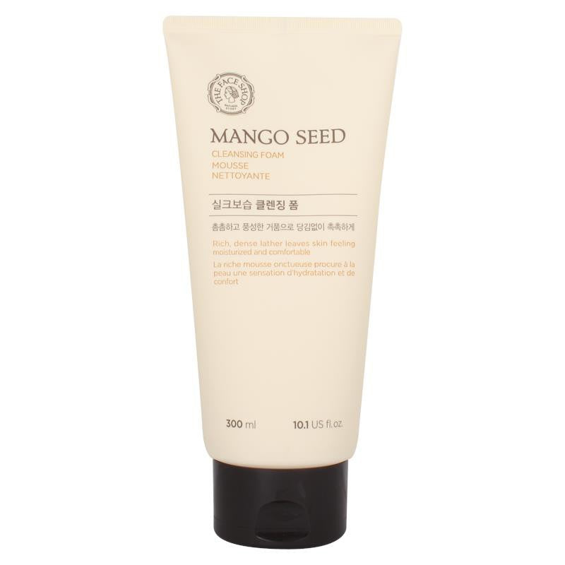The Face Shop Mango Seed Silk Moisturising Cleansing Foam