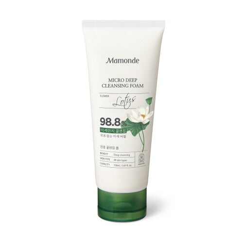 Mamonde Micro Deep Cleansing Foam 150ml - Sister Seoul, K-Beauty