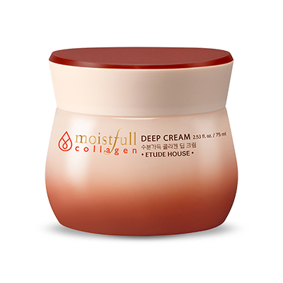 Etude House Moisture Collagen Deep Cream - Sister Seoul, K-Beauty