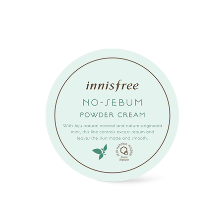 Innisfree No Sebum Powder Cream - Sister Seoul, K-Beauty