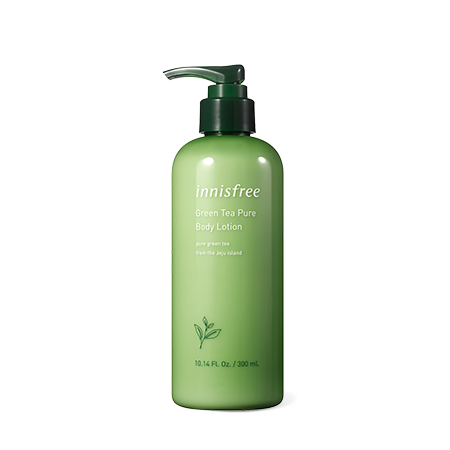 Innisfree Green Tea Pure Body Lotion 300ml - Sister Seoul, K-Beauty
