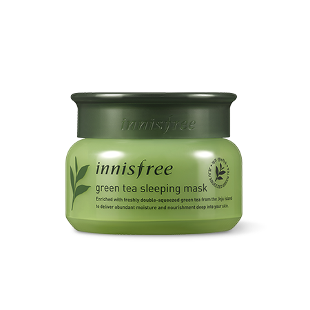 Innisfree Green Tea Sleeping Mask - Sister Seoul, K-Beauty