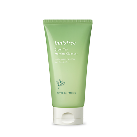 Innisfree Green Tea Morning Cleanser - Sister Seoul, K-Beauty