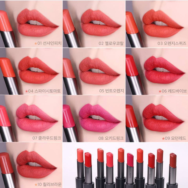 Innisfree Real Fit Matte Lipstick - Sister Seoul, K-Beauty