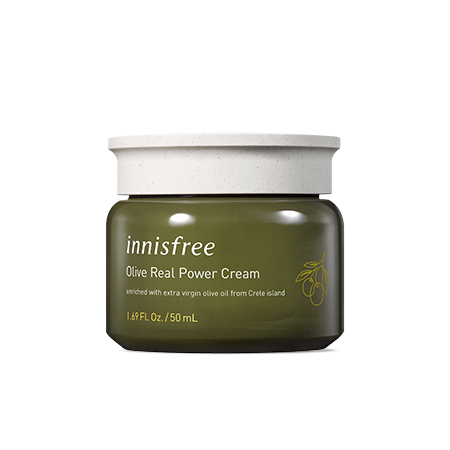 Innisfree Olive Real Power Cream Ex 50ml - Sister Seoul, K-Beauty