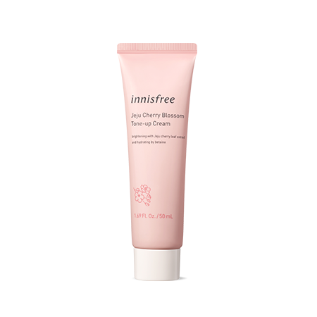 Innisfree Jeju Cherry Blossom Tone Up Cream [Tube] 50ml - Sister Seoul, K-Beauty