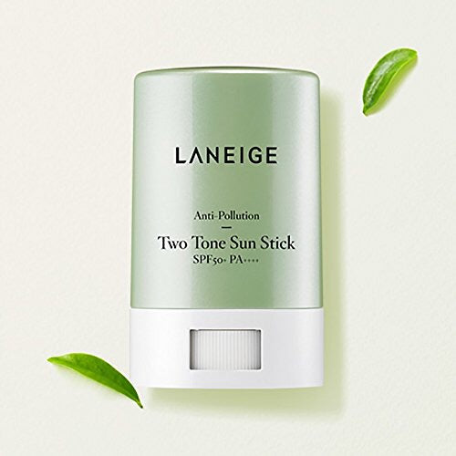 Laneige Anti-Pollution Two-Tone Sun Stick SPF50 + PA +++ - Sister Seoul, K-Beauty