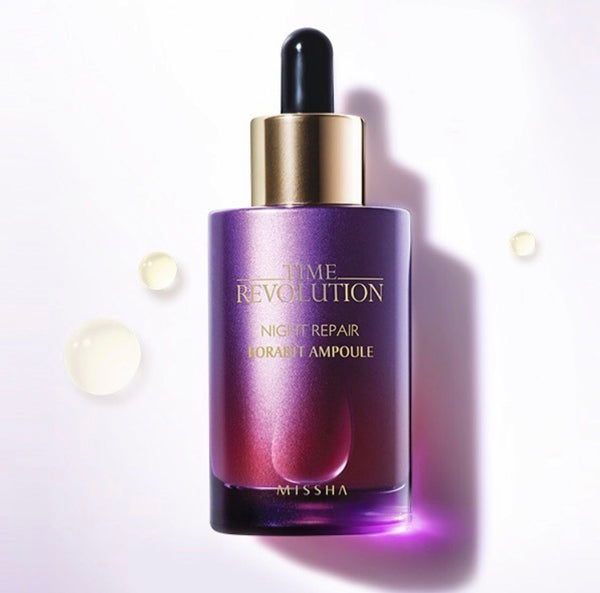 Time Revolution Night Repair Science Activator Ampoule - Sister Seoul, K-Beauty