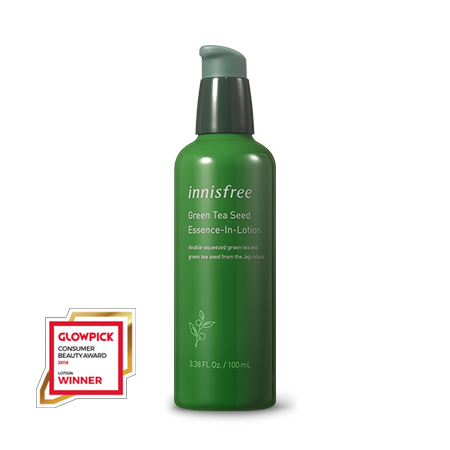 Innisfree Green Tea Seed Essence-In-Lotion - Sister Seoul, K-Beauty