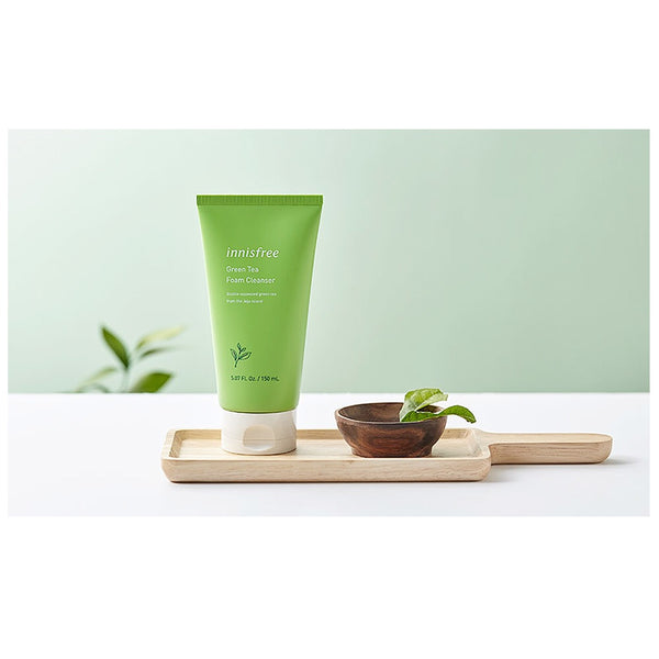 Innisfree Green Tea Foam Cleanser - Sister Seoul, K-Beauty