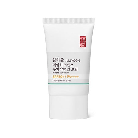 Illiyoon Mineral Sun Cream SPF50+/PA+++ 45ml - Sister Seoul, K-Beauty