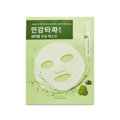 Etude House Sensitive Skin T.A.P.A Waterfull Soothing Mask - Sister Seoul, K-Beauty