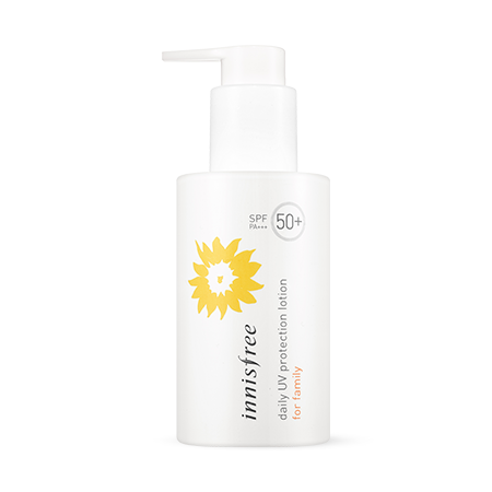 Innisfree Daily UV Protection Lotion for Family SPF50+ PA+++ - Sister Seoul, K-Beauty