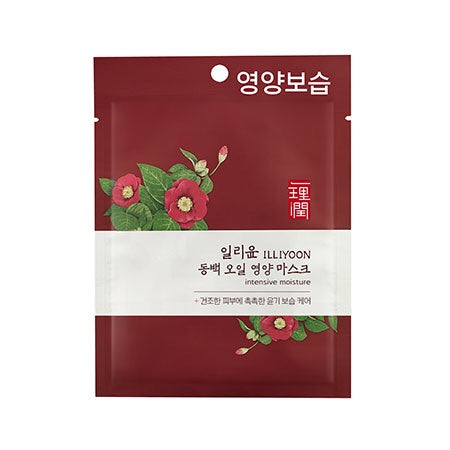 Illiyoon Intensive Moisture Mask (Camellia Oil) 1ea - Sister Seoul, K-Beauty