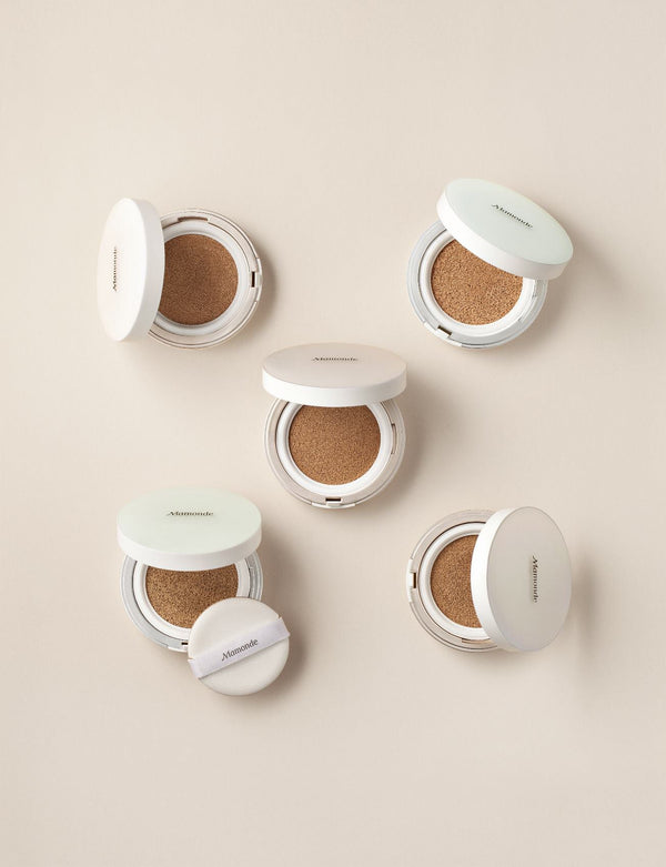 Mamonde Brightening Cover Powder Cushion (SPF 50+/PA+++) - Sister Seoul, K-Beauty