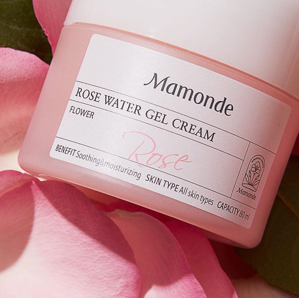 Mamonde Rose Water Gel Cream 80 ml - Sister Seoul, K-Beauty