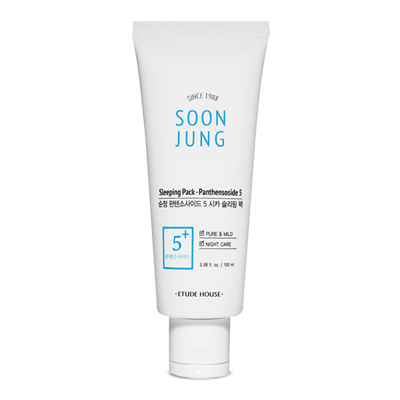 SoonJung Sleeping Pack-Panthensoside 5 - Sister Seoul, K-Beauty