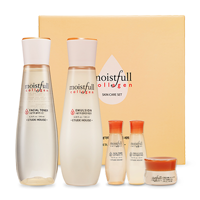 Etude House Moistfull Collagen Skin Care Set - Sister Seoul, K-Beauty