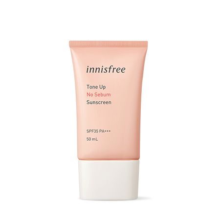 Innisfree Tone Up No Sebum Sunscreen 50ml - Sister Seoul, K-Beauty