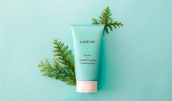 Laneige Mini Pore Double Clearing Cleansing Foam 150ml - Sister Seoul, K-Beauty