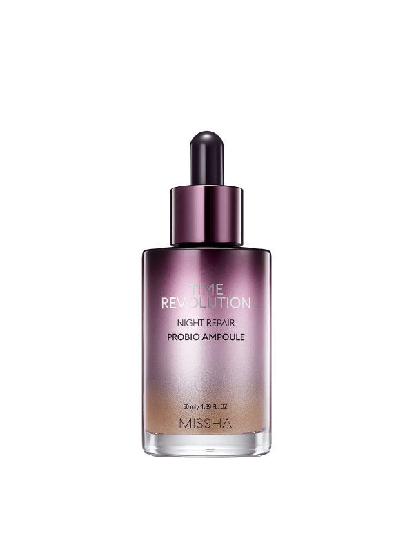 Time Revolution Night Repair Probio Ampoule - Sister Seoul, K-Beauty