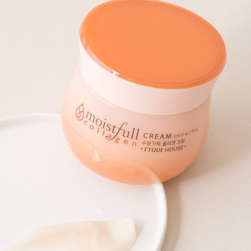 Etude House Moistfull Collagen Cream - Sister Seoul, K-Beauty