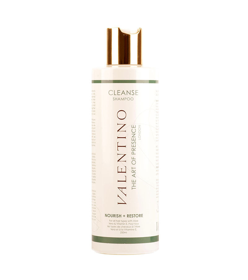 Valentino Haircare Cleansing Shampoo 250ml Bottle