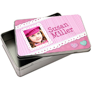 5x7 Tin Photo Box