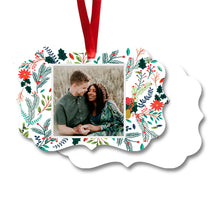 Load image into Gallery viewer, Hand drawn flowers ornament