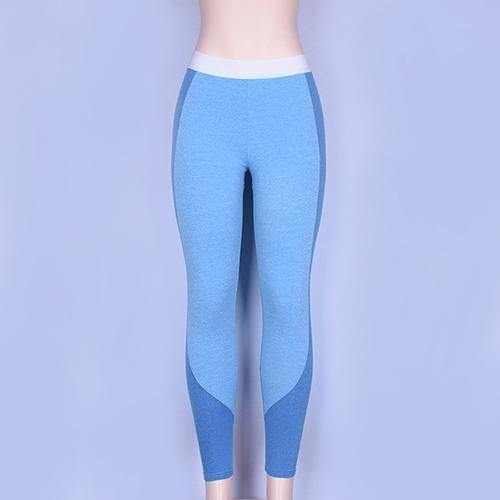 90b4ce18e2c21 Fitness leggings Polyester High Waist sport leggings push up Elastic Casual  Workout Sexy yoga Pants Bodybuilding