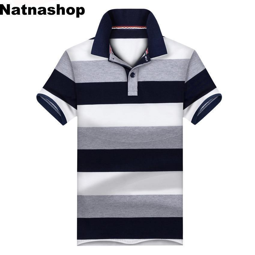 new concept vast selection shop New Casual Men's Polo Shirt Mens Short Sleeve Shirts Men's Brand ...