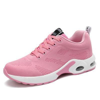 wholesale dealer purchase original great fit Women Black Sneakers Summer Fashion Breathable Air Mesh Lace Up Casual  Shoes Ladies Soft Flat Comfort Walking Shoes