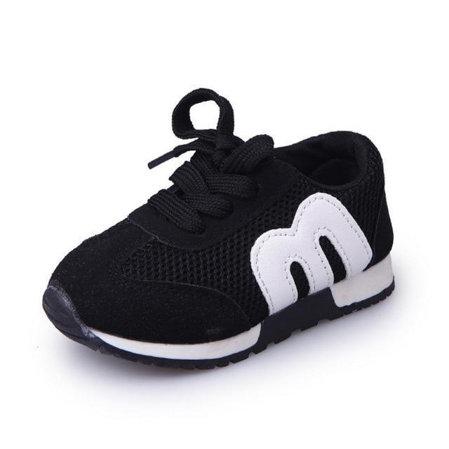 vente chaude en ligne a6325 d0f30 New Spring Children Sport Sneakers Kids Soft Letter Breathable Running  Shoes Girls Boys Loafers Toddler Shoes Enfant Chaussure