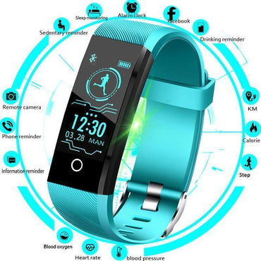 66f15eb18 New Sport Smart Bracelet Men Smart Watch Women Fitness Tracker Smart  Wristband Heart Rate Blood Pressure ...