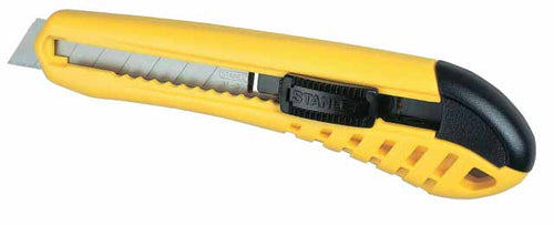 Stanley 0-10-280 Snap-off Blade Knife - Self Locking 18mm