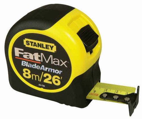 Stanley 0-33-726 FatMax Blade Armor 8m/26' Tape