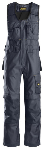 Snickers 0312 Craftsmen One-piece Trousers, DuraTwill Navy