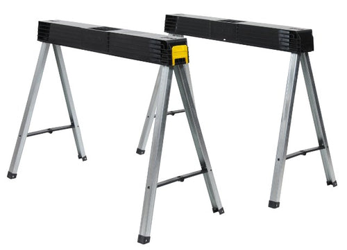 Stanley 1-97-475 Folding Sawhorse - Twin Pack