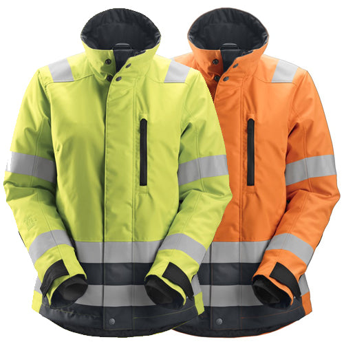 Snickers 1137 AllroundWork Womens High-Vis 37.5® Insulated Jacket Class 2/3