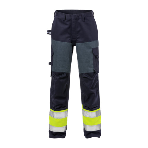 Fristads 125951 Flame High Vis Trousers Woman CL 1 2591 FLAM