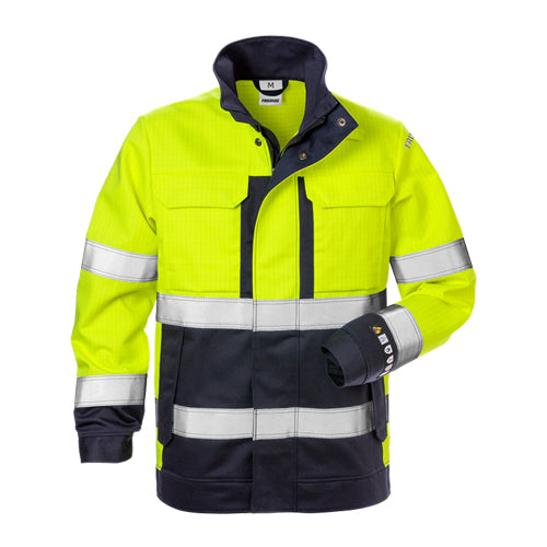 Fristads 125952 Flame High Vis Jacket Woman CL 3 4590 FLAM