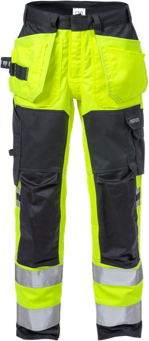 Fristads 129520 Flamestat H-Vis Stretch Craftsman Trousers Class 2 2167 ATHF