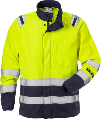 Fristads 130238 Flamestat High Vis Softshell Jacket Woman Class 3 4076 FSS