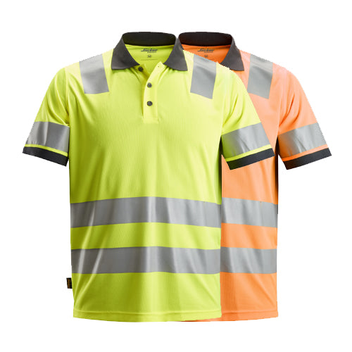 Snickers 2730 AllroundWork High-Vis Polo Shirt CL 2