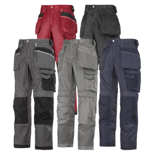 Snickers 3212 DuraTwill Craftsmen Trousers with Holsters